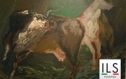 Animali nella notte - Guttuso